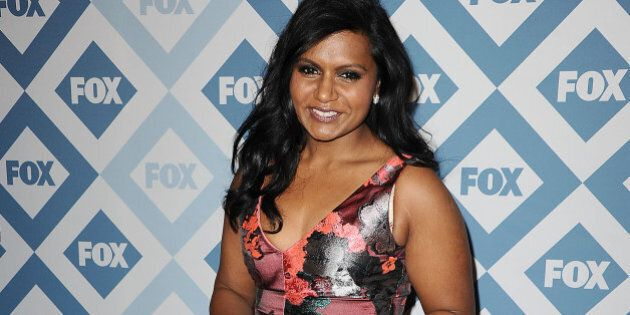 PASADENA, CA - JANUARY 13: Actress Mindy Kaling attends the FOX All-Star 2014 winter TCA party at The...