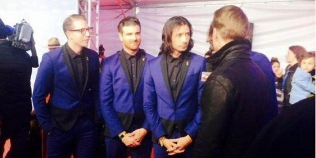 Magic! Junos 2015: Band Goes Matchy-Matchy On The Red