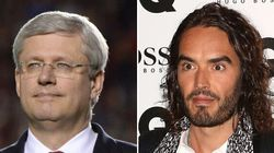 Russell Brand Lashes Out At PM Over Reaction To Ottawa
