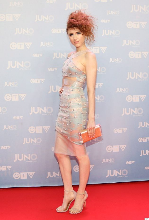 Kiesza's Junos 2015 Dress Steals The Red
