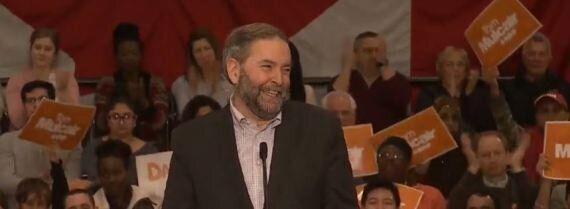 Mulcair Says NDP Will 'Repair Damage Stephen Harper Has
