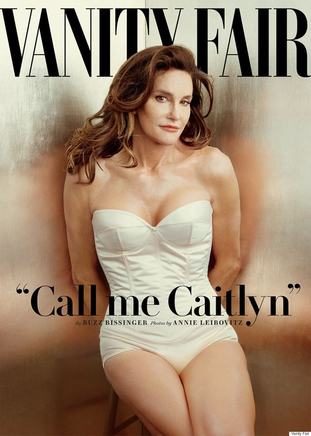 Caitlyn Jenner Makes Her Debut On Vanity
