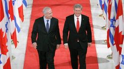 Harper's Israel Trip Comes Amid Changes Where It Matters