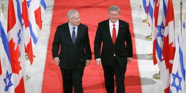 Harper's Israel Trip Comes Amid Changes Back