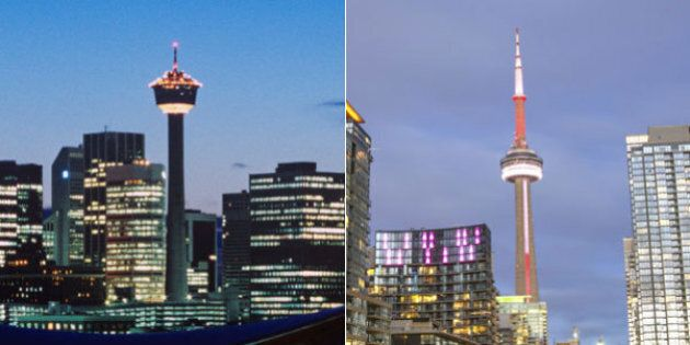 Toronto Real Estate Soars As Calgary And Edmonton's Markets Fall