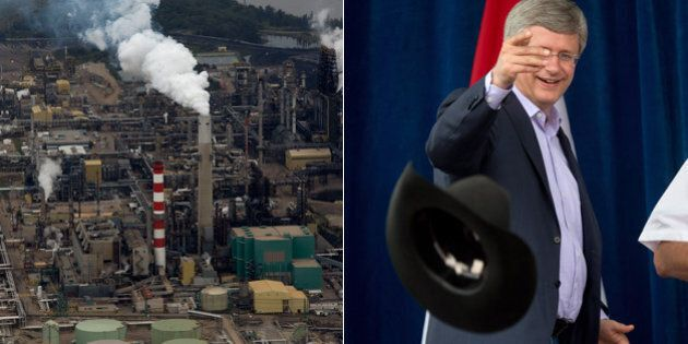 Oilsands Emissions To Quadruple By 2030: Harper Government