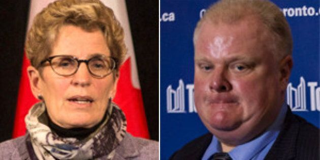 Ice Storm: GTA Mayors To Meet On Cleanup, Wynne Rejects Ford