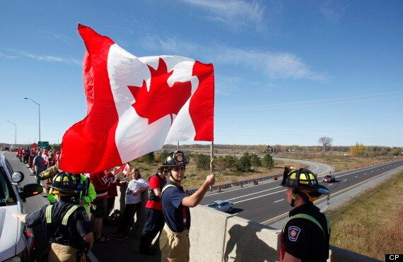Canada Honours Nathan Cirillo On The Highway Of Heroes