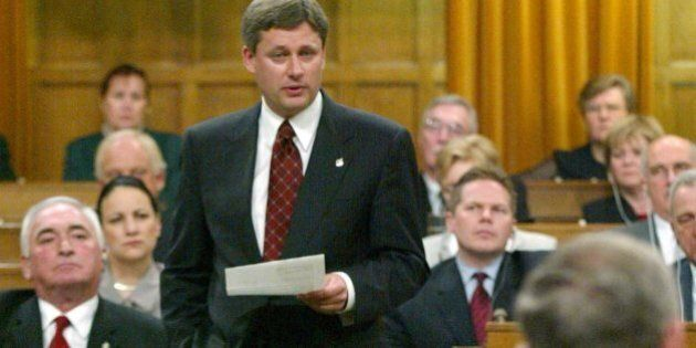 The 2002 Harper Wouldn't Be Happy With The 2014 Harper's Ad