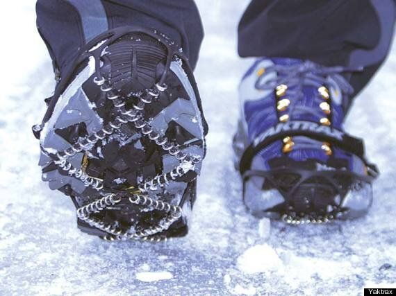 How To Walk On Ice Without Breaking Your