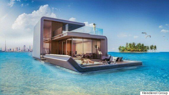 Dubai's Incredible Partly Underwater Homes Could Soon Go