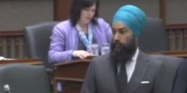 NDP's Jagmeet Singh Wants To Legislate An End To Police