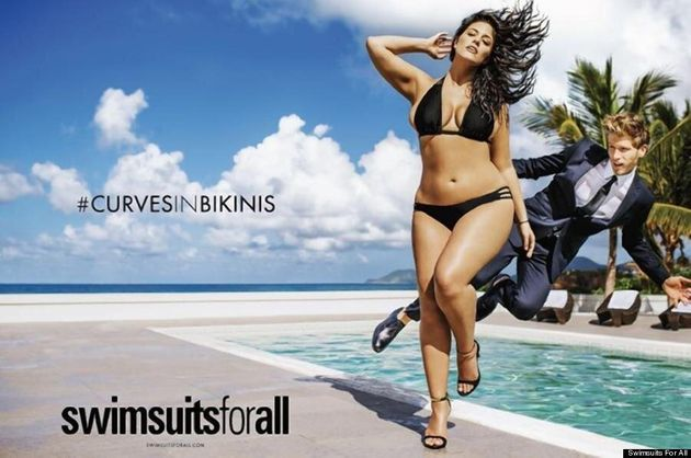 Ashley Graham's History-Making Ad Debuts In Sports Illustrated Swimsuit