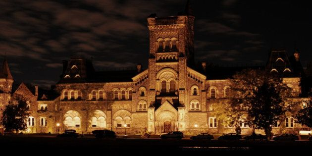 University College, the main building of the University of Toronto, constructed in the