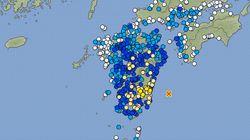 宮崎県で震度5弱の地震