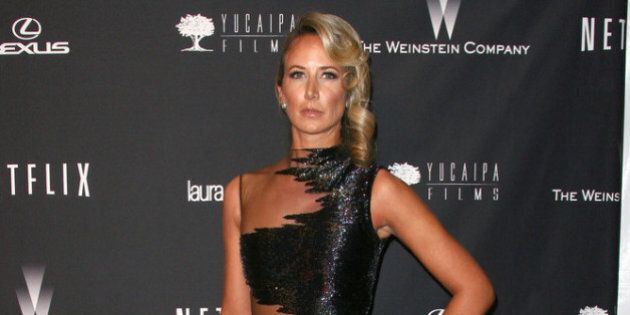 BEVERLY HILLS, CA - JANUARY 12: Lady Victoria Hervey attends the Weinstein Company's 2014 Golden Globe...
