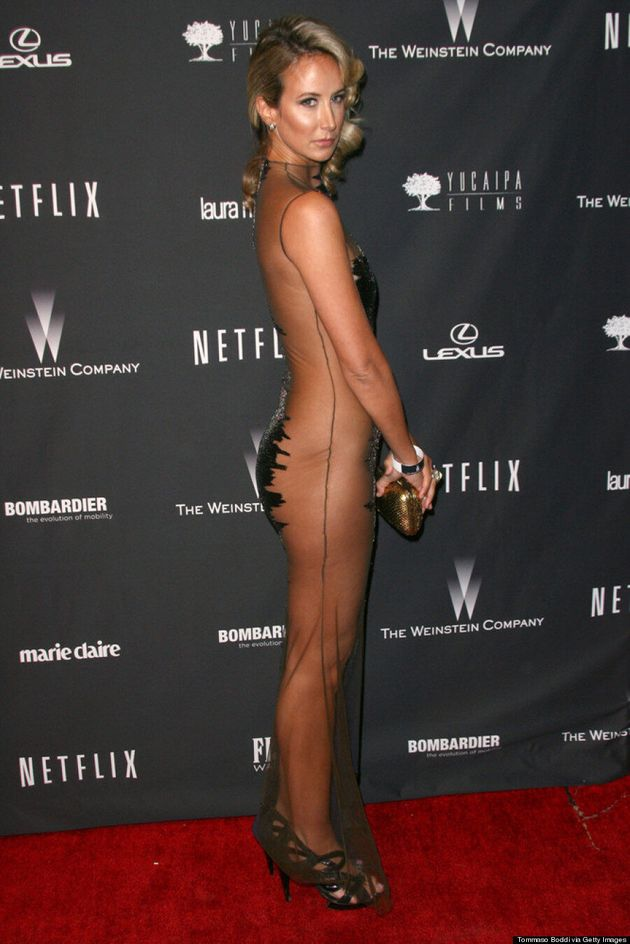 Lady Victoria Hervey's Golden Globes 2014 Dress Shouldn't Be Seen By Children