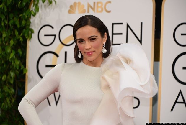 Paula Patton's Golden Globes 2014 Dress Is A Spectacular Mess