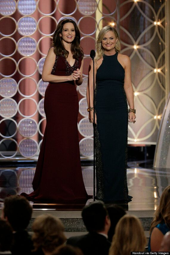 Golden Globes 2014: Was Tina Fey Or Amy Poehler The Best-Dressed Host?