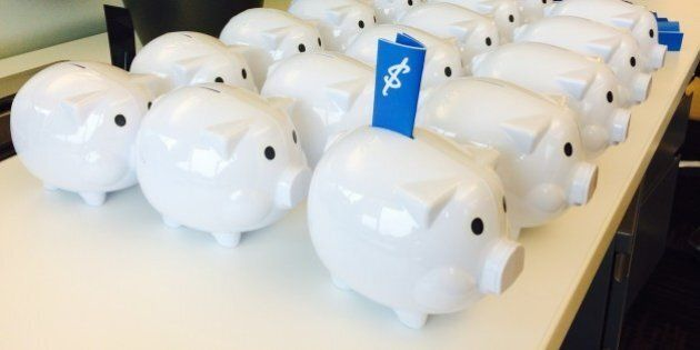 Free Money In Vancouver: Cash-Stuffed Piggy Bank Giveaway Is Actually