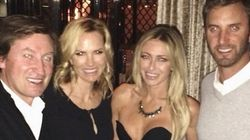 Paulina Gretzky Wears Slinky Outfit To Mom's