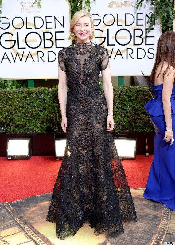 Cate Blanchett Golden Globes 2014: Best Actress Winner's Dress Is A Sight To Behold