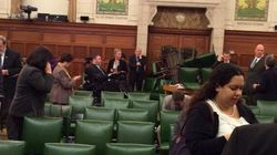 PM Waited With MPs Inside This Room While Gun Battle Raged