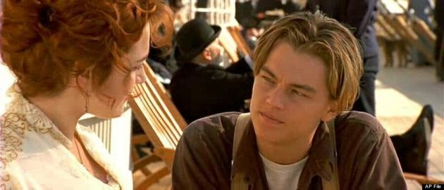 Johnny Depp's Golden Globes 2014 Hair Looks Like Leonardo DiCaprio's In 'Titanic'