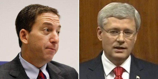 Glenn Greenwald Predicts Security Crackdown, More Canadian
