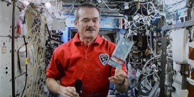 Astronaut Chris Hadfield Guarded $5 Polymer Note Before Space