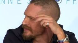 Tom Hardy Has Perfect Answer To Reporter's 'Sexist'