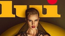 LOOK: Rosie Huntington-Whiteley Bares All For Lui Magazine