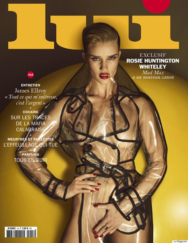 Rosie Huntington-Whiteley Strips Down For Lui Magazine