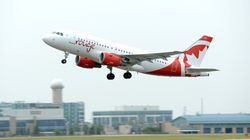 Air Canada Rouge Removes Seats To Make Leg Room, For