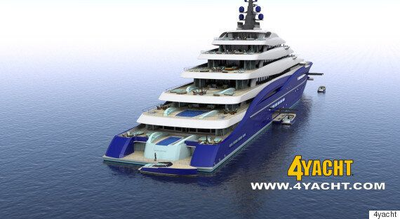 LOOK: Double Century, Soon-To-Be World's Biggest 'Gigayacht,' On Sale For $950