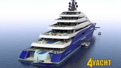 LOOK: World's Biggest 'Giga-Yacht' On Sale For $950