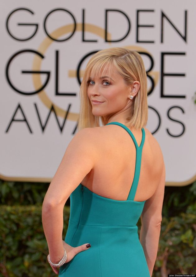 Reese Witherspoon's Golden Globes 2014 Dress Is Her Sexiest Yet