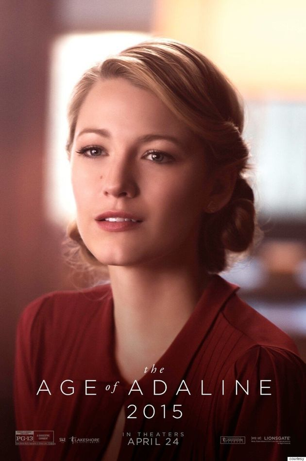 Blake Lively's 'Age Of Adaline' Posters Are A History Lesson In