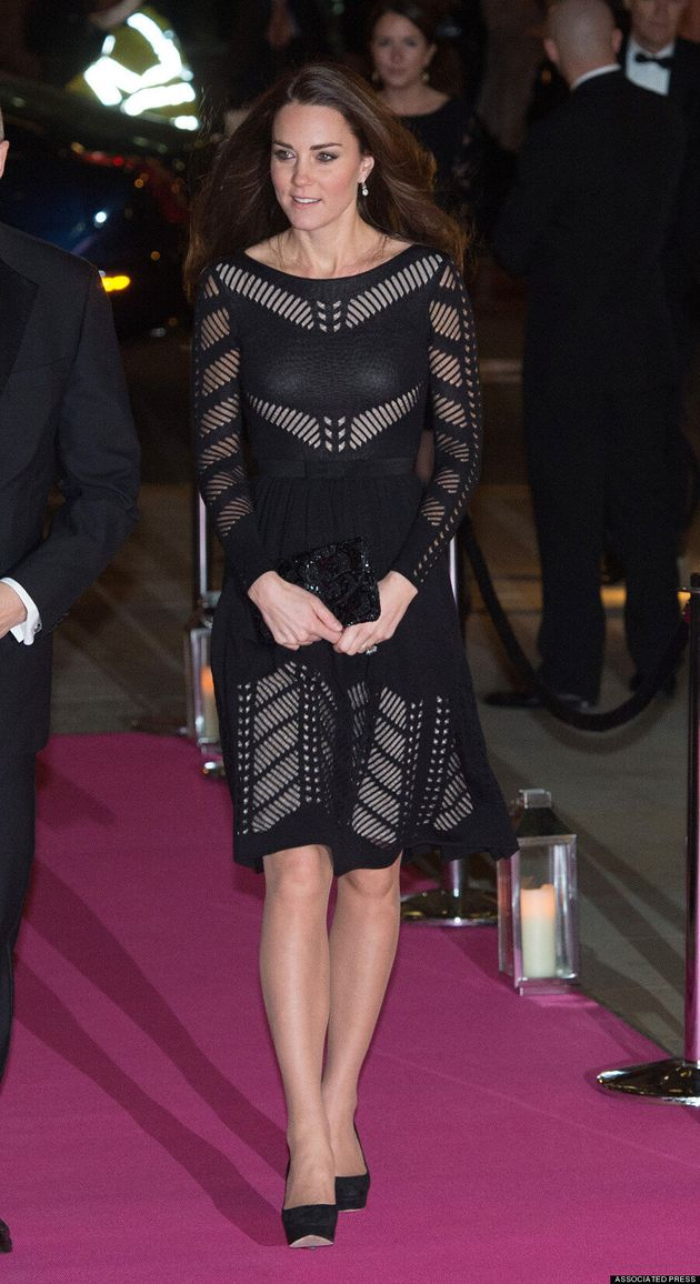 Kate Middleton Flashes Some Flesh In Gorgeous Sheer