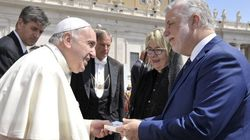 Quebec Premier Invites Pope To Birthday