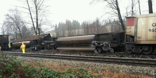 Burnaby Train Derailment Spills Coal Into