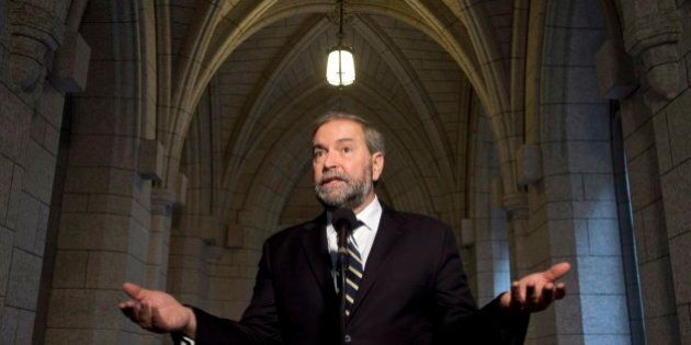 NDP MPs Slapped With $2.7-Million Bill Over Satellite