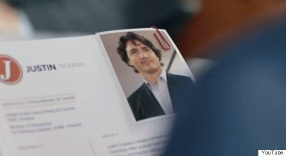 Harper's Trudeau Attack Ad Looks Really