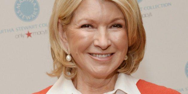 PASADENA, CA - DECEMBER 17: Martha Stewart attends a holiday book signing for her new book 'Martha Stewart's...
