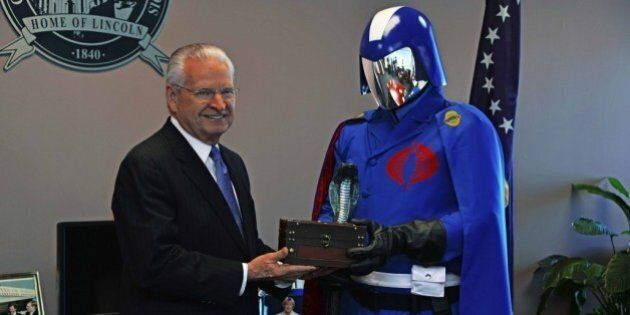 Cobra Commander Given The Key To Springfield,