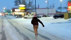 Only In Canada: Skating Down Main
