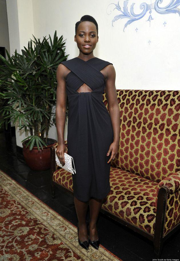 Lupita Nyong'o Shows Off Some Skin At W Magazine Celebration
