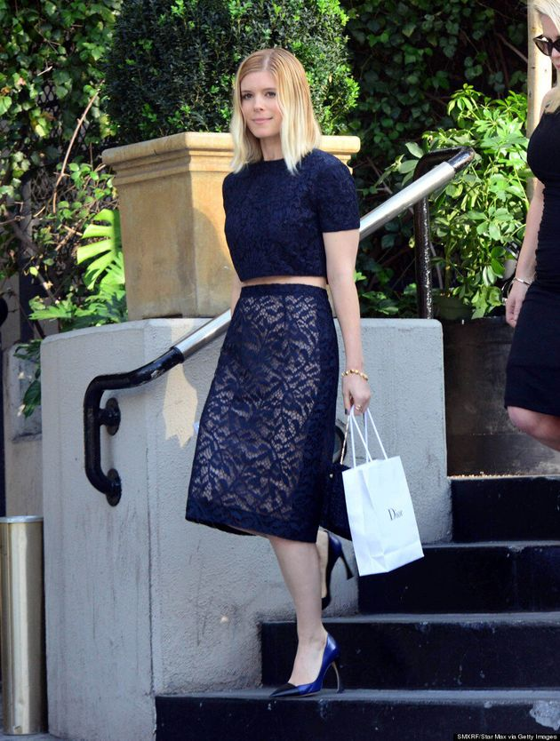 Kate Mara Goes Blond Ahead Of Golden Globe Awards 2014