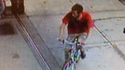 Guy Steals Police Bike Metres Away From Victoria