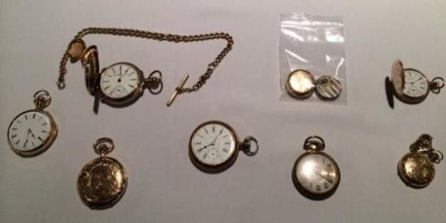 Train-Robber's Watch Returned To Victoria